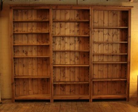 Original Bookcase - 7 Ft High x 9 Ft Wide -