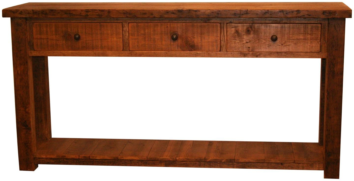 Original 6 Foot Console Table Vintage Amp Reclaimed