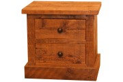 Rafter 2 Drawer Bedside