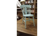 Beech Fiddle Chair Painted