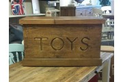 4 Foot Reclaimed Toy Box