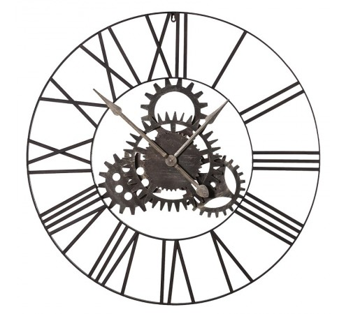 Roman Numeral With Cogs