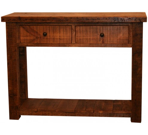 Original 4 foot console table vintage reclaimed for Sofa table 6 ft