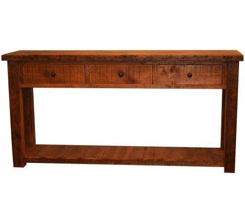 Original 6 foot console table vintage reclaimed for 5 foot console table