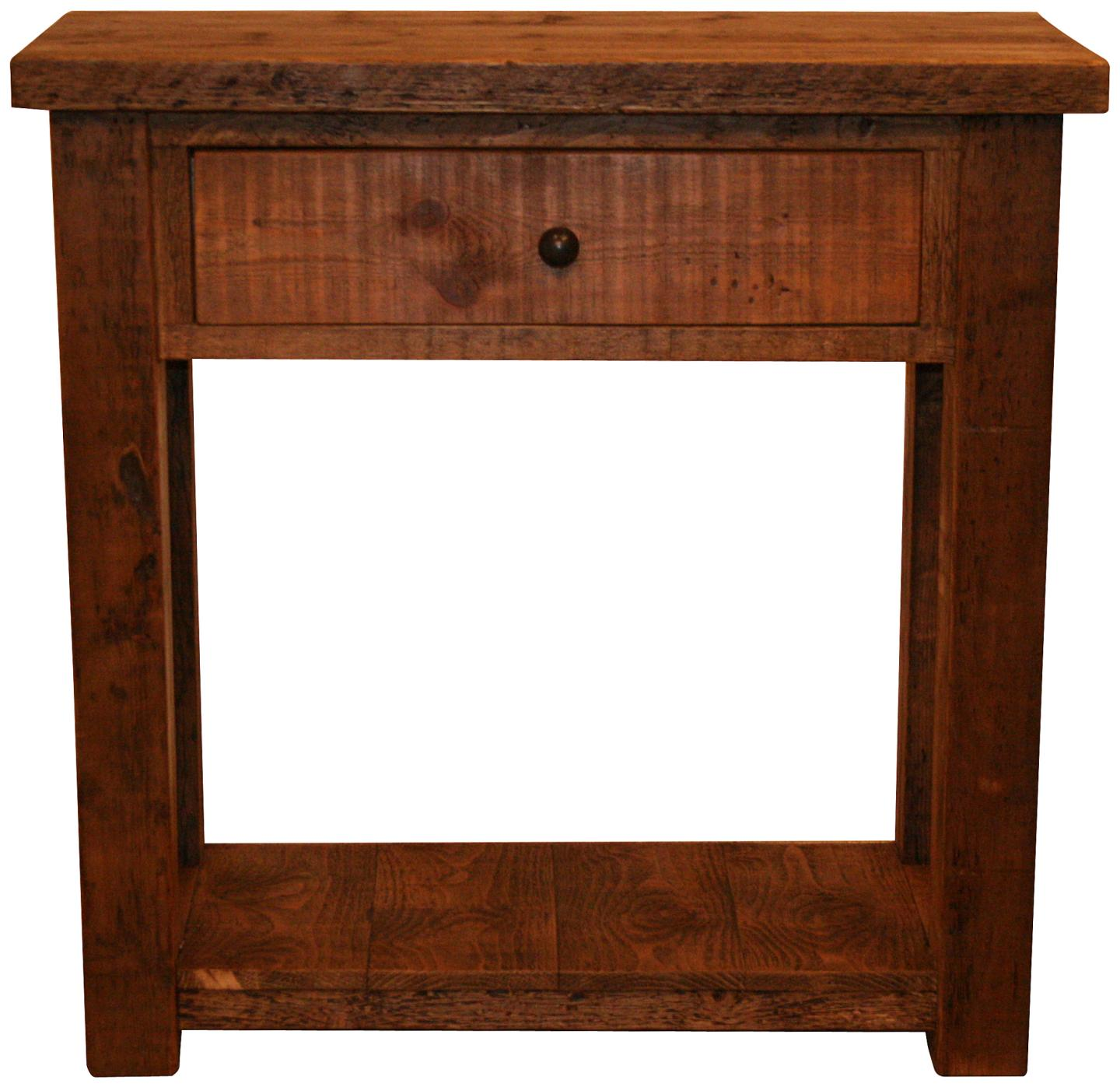 Original 3 Foot Console Table - Vintage & Reclaimed Furniture