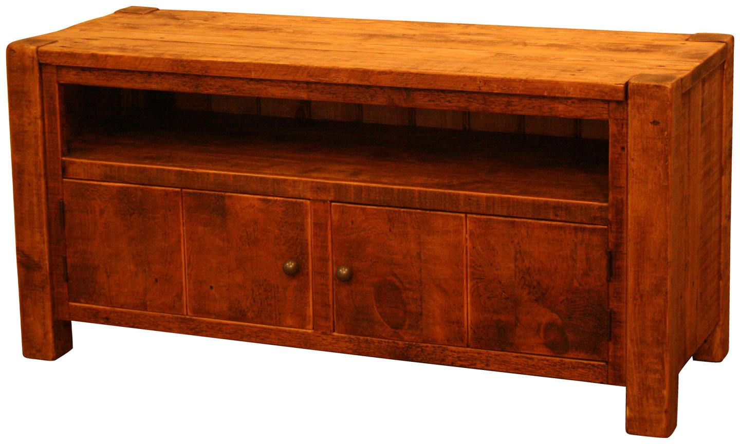 Cargo Large TV Cabinet with Doors - Vintage & Reclaimed Furniture ...