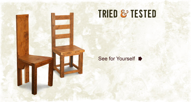 Tried and Tested - Quality Reclaimed Timber Furniture - Vintage and Reclaimed