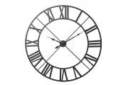 Large Black Roman Numeral Clock